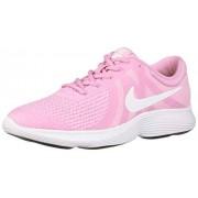 Nike Revolution 4 (GS) Zapatillas para niños, Pink Rise/White Pink Foam Black, 6.5 Big Kid