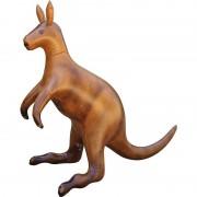 Geen Opblaasbare kangoeroe 75 cm decoratie/speelgoed