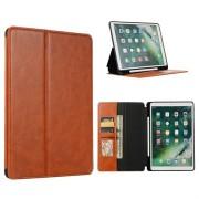 iPad 10.2 2019/2020 Folio Case met Kaarthouder - Bruin