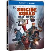 Warner Home Video Suicide Squad: Hell To Pay - Steelbook Edición Limitada Exclusivo de Zavvi