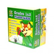 Bright Start LEARN & GROW Grades 1 & 2 FLASH CARDS BOX SET for Ages 5+ [300 CARDS]