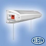 Kórházi ágylámpa FISA BENELUX 4x18W+1x15W (2x18W direkt világítás, 2x18W indirekt világítás + 1x15W derengő világítás) IP20 Elba