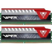 Kit Memorie Patriot Viper Elite Red 2x4GB DDR4 2400MHz CL15 Dual Channel