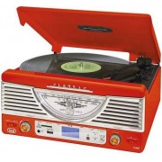 TREVI Gramofon TT 1062E Czerwony