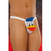 Softline Duck G String Underwear White 4438