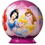 Puzzle 3D Printesele Disney, 108 piese Ravensburger