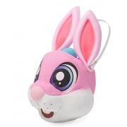 """Easter Egg Hunt Rabbit Basket Pink 13"""" by Jolly Holiday"""