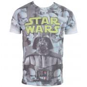 tričko pánské Star Wars - Imperial Photo Montage - ROCK OFF - STWAEP7TS20MW