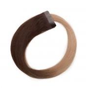 Rapunzel® Extensions Naturali Quick & Easy Original Liscio O2.0/7.5 Medium Brown Ombre 50 cm