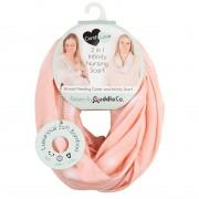 Esarfa pentru alaptare din bambus Comfi Love Pink 844708