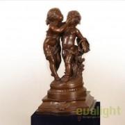 Figurina / Statueta decorativa design artistic de LUX din bronz Moreau SV-14442