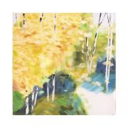 Tablou pictat manual Change 40x40 cm
