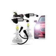 Kit Lâmpada Super Xenon Power Led 3d H11 6000k 50w 12v 24v 4500lumen