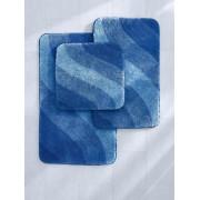 Grund Matte ca. 70x120cm Grund blau Wohnen blau