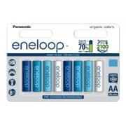 Eneloop 8db Ocean színes 1900 mAh ceruza akkumulátor