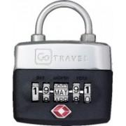 Go Travel Birthday Lock Safety Lock(Multicolor)