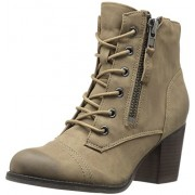 Madden Girl Women's Woosterr Ankle Bootie, Taupe Paris, 8.5 M US