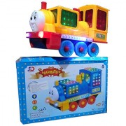 OH BABY 3D LIGHT MUSICAL POWER WITH AUTOMATIC SENSOR LIGHT LOCO MOTIVE ENGINE BLUE COLOR TOYS FOR YOUR KIDS SE-ET-28