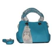 New fashion Crush Blue Sling Bag
