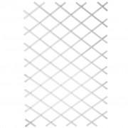 Nature fehér PVC lugas rács 100 x 200 cm