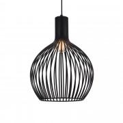 [lux.pro]® Декоративен пендел Milánó 49 x 36,5 cm, Черен, Метал
