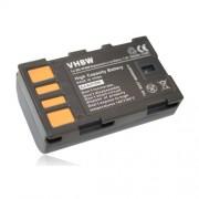 Batterie LI-ION compatible pour JVC GC-PX10, GC-PX10EU, GC-PX100, GC-PX100BEU, GS-TD1, GS-TD1EU remplace BN-VF808 / BN-VF808U