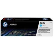 CE321A Lézertoner Color LaserJet Pro CM1415, CP1525N nyomtatókhoz, HP 128A, cián, 1,3k (TOHPCE321A)