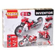Set de montare modele Engino Inventor, Motorete, 12 in 1
