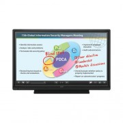 "Display, SHARP 60"", Touch, 10-Point IR IWB, whiteboard and annotate s/w + wireless collaboration s/w (PN60TB3)"