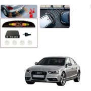 Auto Addict Car White Reverse Parking Sensor With LED Display For Audi A4