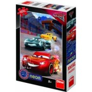 Puzzle Cars 3 Neon Dino Toys 100XL Multicolor
