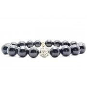 Beaddhism - Armband - Big Black - Queen - 10 mm - 21 cm