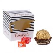 Electroprime® 50Pcs Personalized Graduation Party Favor Bags Candy Buffet Boxes Favors