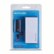 Multilaser Kit Power Bank + Pendrive + Cartão de Memória Micro SD com 16GB Multilaser - MC220 MC220