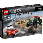 LEGO SPEED CHAMPIONS 1967 MINI COOPER S RALLY ȘI AUTOMOBIL SPORT 2018 MINI JOHN COOPER WORKS 75894