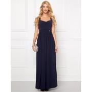 CHIARA FORTHI Kleid von Chiara Forthi mit Drapierung, dunkelblau
