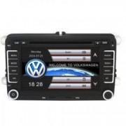 Navigatie Gps VW Golf 5 6 Passat B6 B7 CC Tiguan Touaren Jetta Eos Polo Sharan Amarok Caddy Windows 6.0 Dvd Player Usb Bluetooth