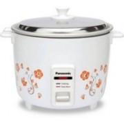 Panasonic SR-WA18H (K) Electric Rice Cooker(4.4, White with print)