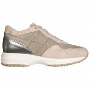 Hogan Scarpe sneakers donna camoscio interactive