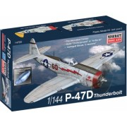 Minicraft 14722 - 1 144 P-47D USAF with 2 marking options