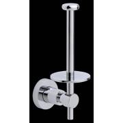 tesa SE tesa® LOXX Ersatz-Toilettenpapierhalter, verchromt