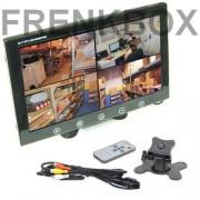 """Mini monitor TFT/LED 10"""" 2 ingressi av1\av2 videosorveglianza sorveglianza PC"""