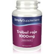 Simply Supplements Trébol Rojo 1000mg - 120 Comprimidos