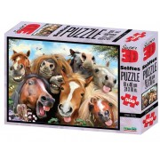 Puzzle 3D Stable Selfie 500 piese