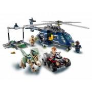 Lego Конструктор Lego Jurassic World 75928 Мир Юрского Периода Погоня за Блю на вертолёте