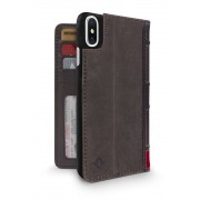 Twelve South BookBook iPhone X / XS Case Wallet Brown