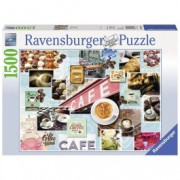 RAVENSBURGER puzzle (slagalice) - kafa na razne načine RA16346