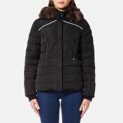 Superdry Women's Glacier Biker Coat - Black - XS - Black