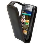 Samsung S5750 Wave575 Flip Калъф + Протектор