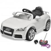 vidaXL Dječji Autić Audi TT RS s Daljinskim Upravljanjem Bijeli